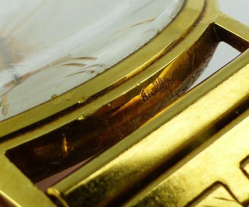 #e7053 Poljot de Luxe Automatic Armbanduhr UdSSR 60er Jahre 10