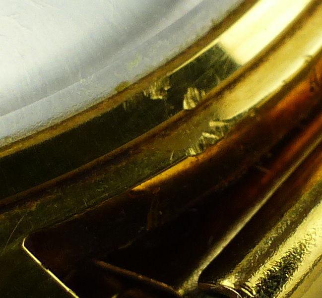 #e7053 Poljot de Luxe Automatic Armbanduhr UdSSR 60er Jahre 11
