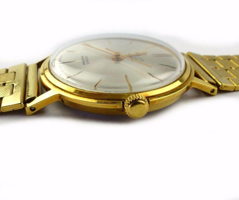#e7053 Poljot de Luxe Automatic Armbanduhr UdSSR 60er Jahre 2