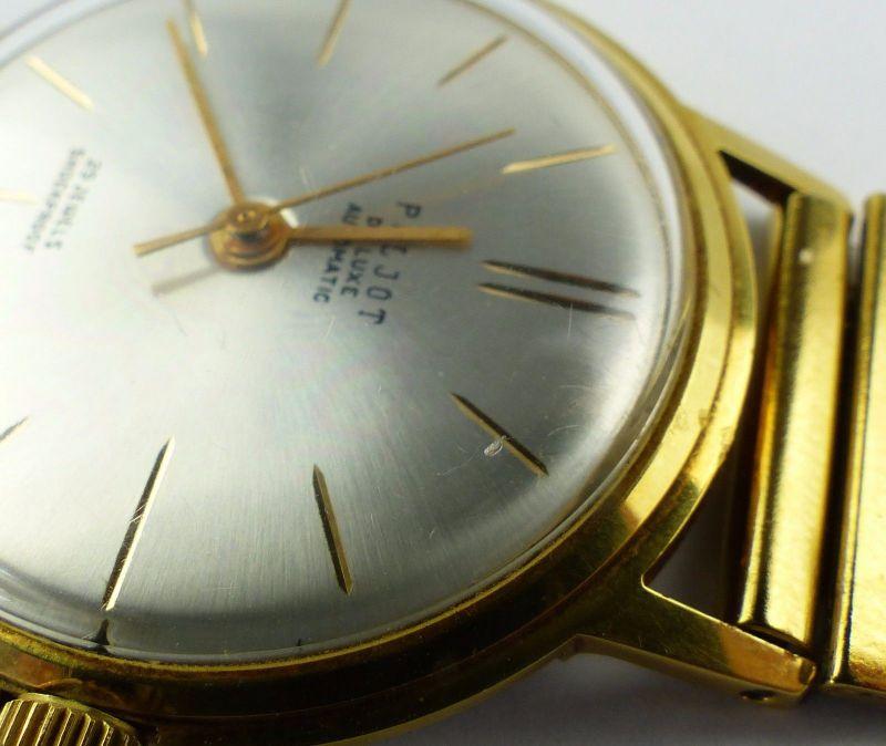 #e7053 Poljot de Luxe Automatic Armbanduhr UdSSR 60er Jahre 6