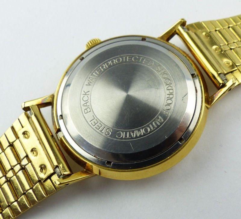 #e7053 Poljot de Luxe Automatic Armbanduhr UdSSR 60er Jahre 9