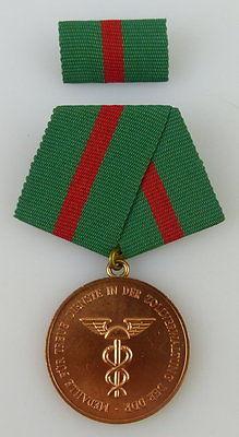 Medaille für treue Dienste in der Zollverwaltung DDR Bronze 5 Jahre, Orden2396