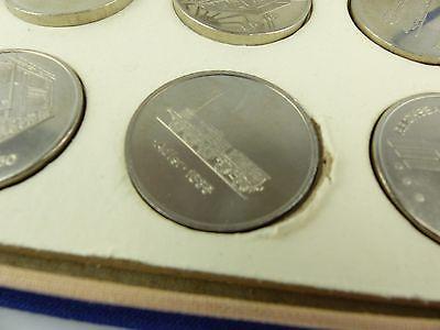 #e7340 Ministerium für Verkehrswesen der DDR 40 Jahre Eisenbahn 8 alte Medaillen 2