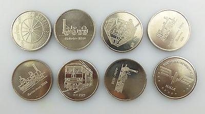 #e7340 Ministerium für Verkehrswesen der DDR 40 Jahre Eisenbahn 8 alte Medaillen 4