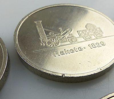 #e7340 Ministerium für Verkehrswesen der DDR 40 Jahre Eisenbahn 8 alte Medaillen 5