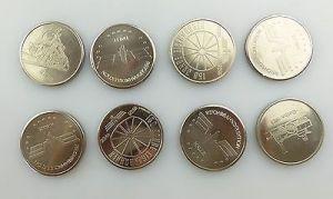 #e7340 Ministerium für Verkehrswesen der DDR 40 Jahre Eisenbahn 8 alte Medaillen 6