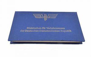 #e7340 Ministerium für Verkehrswesen der DDR 40 Jahre Eisenbahn 8 alte Medaillen 8