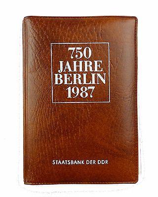 #e7317 Münzsouvenir 750 Jahre Berlin DDR 1987 Staatsbank der DDR 5 Mark Münzen