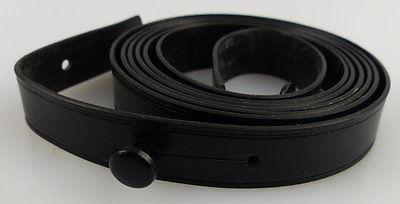 Schwarzer Trageriemen für Ferngläser, Gesamtlänge ca.: 90 cm, fern572