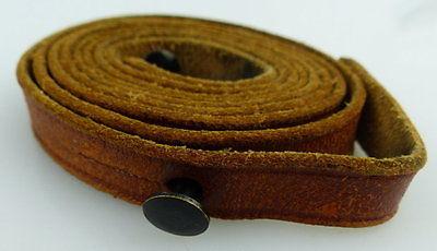 Brauner Trageriemen für Ferngläser, Gesamtlänge ca.: 106 cm, fern571