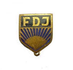 #e7467 Abzeichen: Freie Deutsche Jugend FDJ Mitgliedsabzeichen vgl Band V Nr.3 a