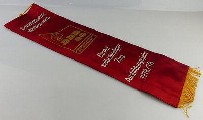 Fahnenschleife: GST Soz. Wettbewerb Ausbildungsjahr 1978/79 Bester sel Orden2841