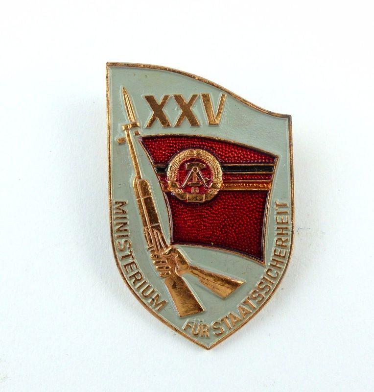 #e7613 DDR Erinnerungsabzeichen 25 Jahre MfS Ministerium für Staatssicherheit