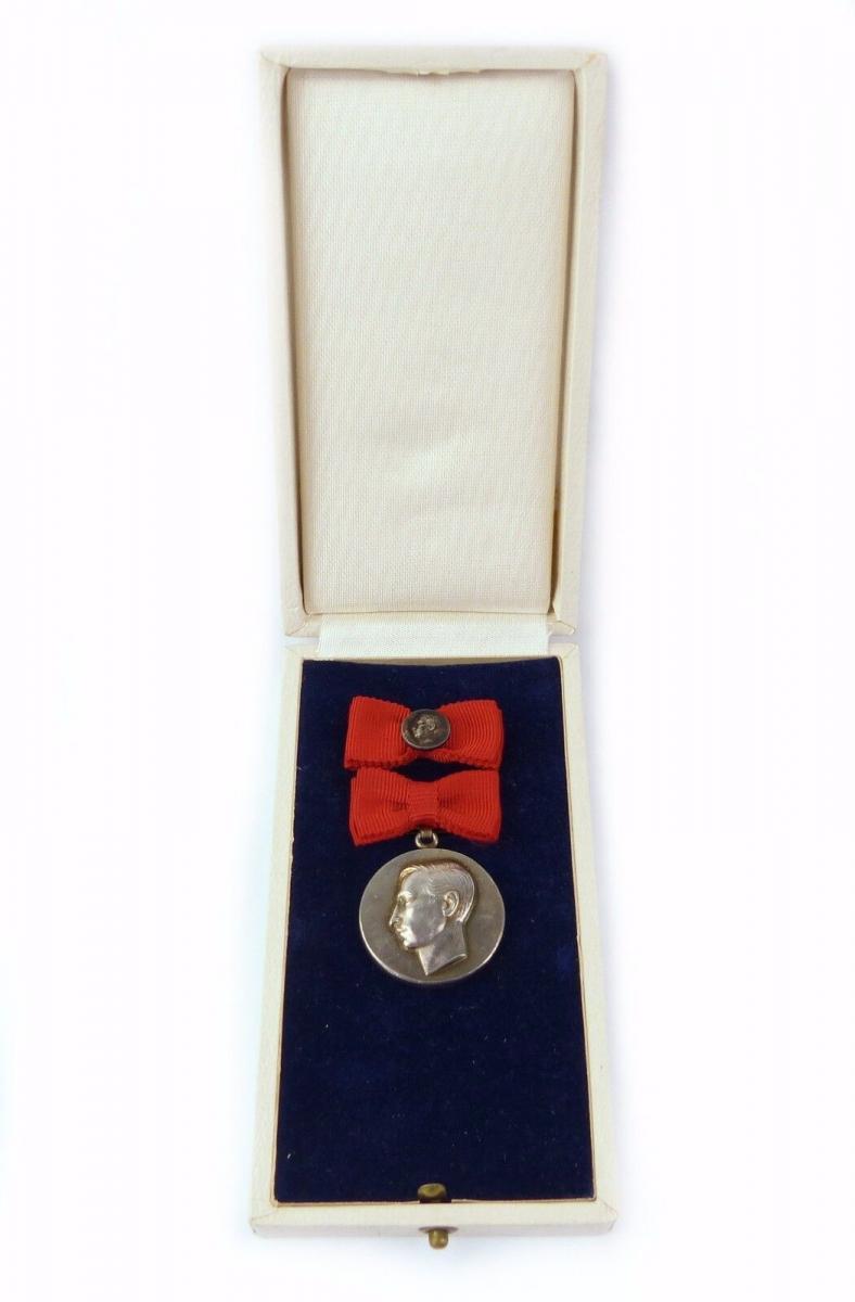 #e7607 Heinrich Greif Preis 1. Klasse 900 Silber vgl. Band I Nr. 26 a selten !