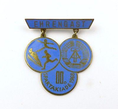 #e7950 DDR Abzeichen für Ehrengast der II. Spartakiade 1968
