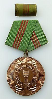 Medaille treue Dienste bewaffneten Organen des MdI Bronze Stufe III ,Orden3283