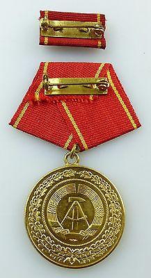 Medaille treue Dienste in den bewaffneten Organen MdI Gold Nr. 140 a ,Orden3281 4