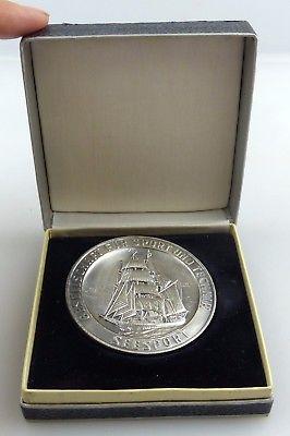Medaille: GST Gesellschaft für Sport und Technik Seesport silberfarben Orden3351
