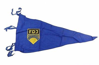 #e8140 Alte FDJ Fahnenschleife mit original Preisschild ! Pippig & Riemer DDR