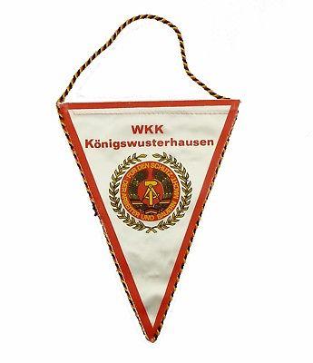 #e8134 Original alter Wimpel für hervorragende Leistungen Salut DDR 30 WKK KW