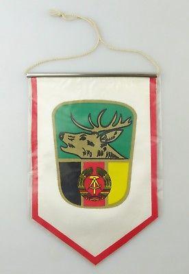 #e8114 Original alter Wimpel Jagdwesen Hirsch Pirsch