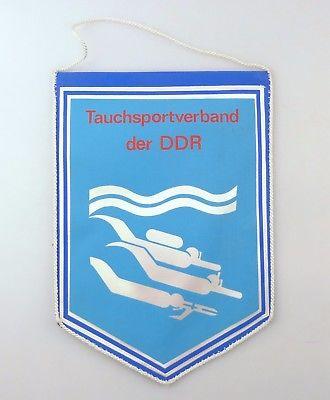 #e8113 Original alter Wimpel Tauchsportverband der DDR