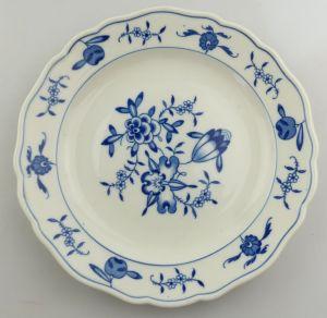 #e8312 Meissen Porzellan Abendbrotteller Teller Apfelmuster 2. Wahl Ø 18,2 cm