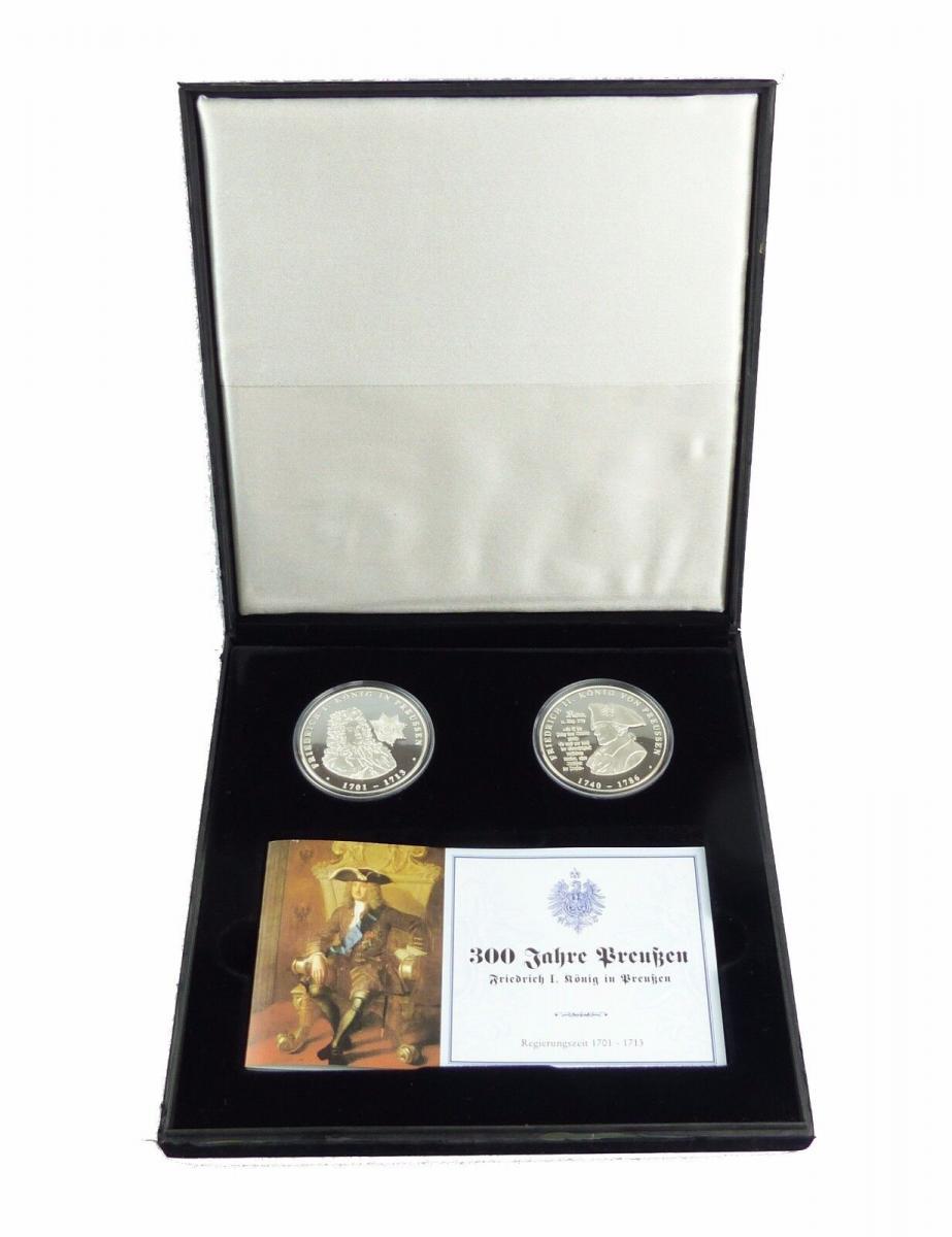 #e7715 2 Münzen 999 Silber