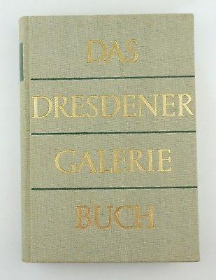 #e8548 Das Dresdner Galerie Buch Seydewitz Verlag der Kunst Dresden 1957 DDR
