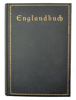 #e8716 Das Englandbuch der täglichen Rundschau Zeit- und Kulturspiegel 1915