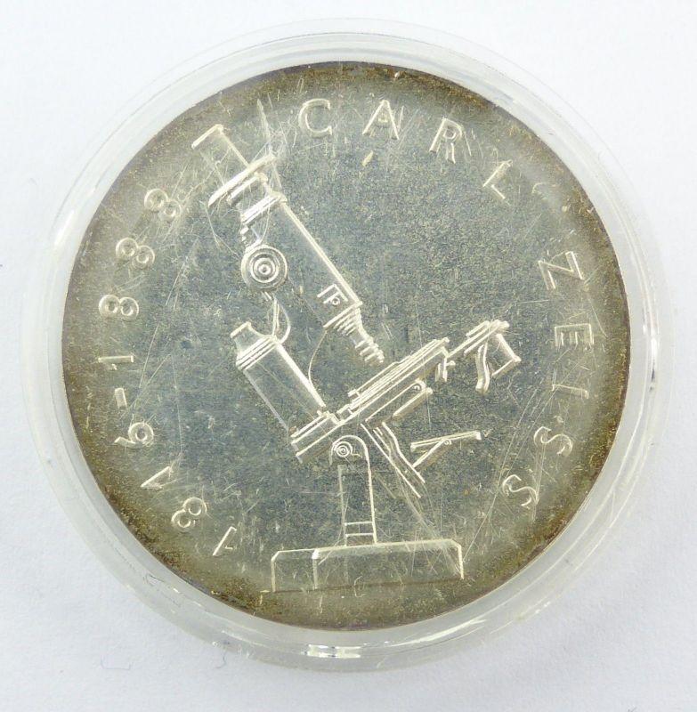 E8708 Ddr 20 Mark Gedenkmünze Von 1988 Carl Zeiss 1816 1888 Nr