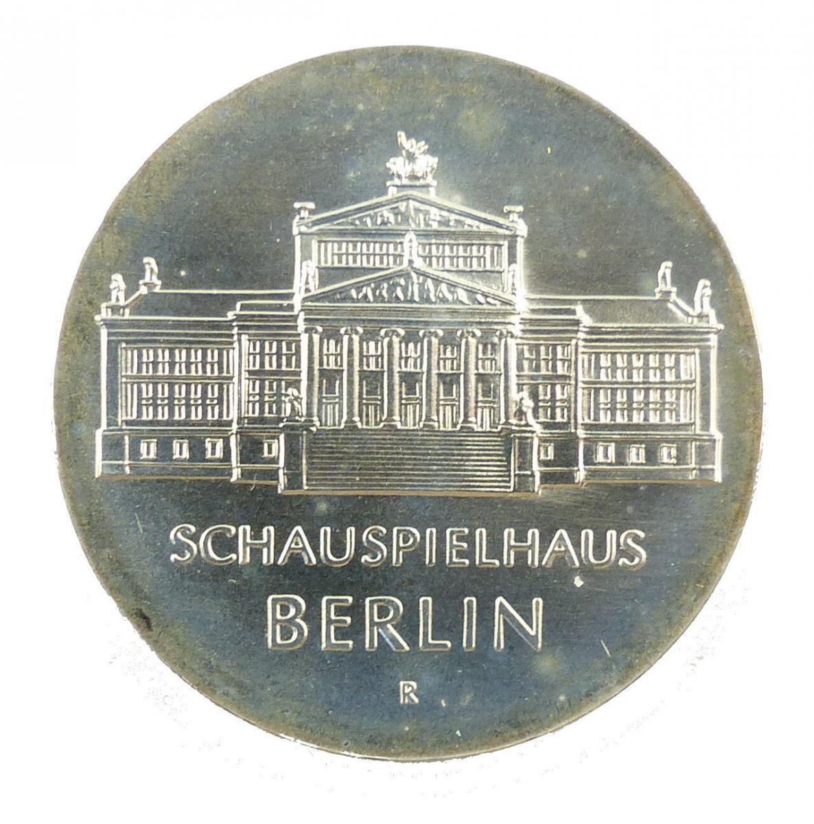 #e8679 DDR 10-Mark-Gedenkmünze 1987 - Schauspielhaus Berlin