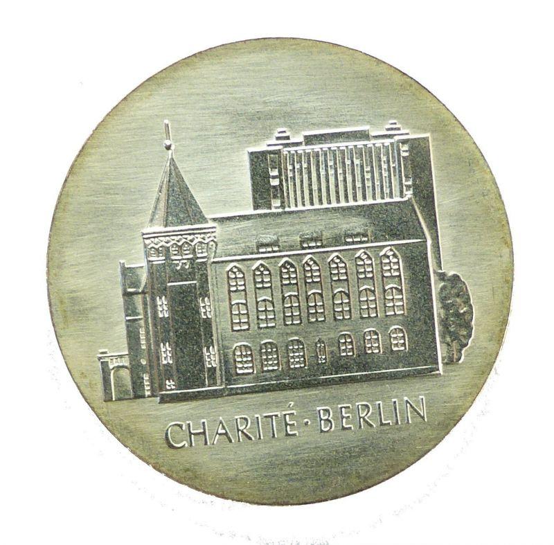#e8660 DDR 10-Mark-Gedenkmünze von 1986 - A - Charité Berlin 0
