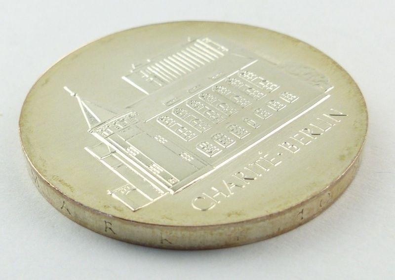 #e8660 DDR 10-Mark-Gedenkmünze von 1986 - A - Charité Berlin 1
