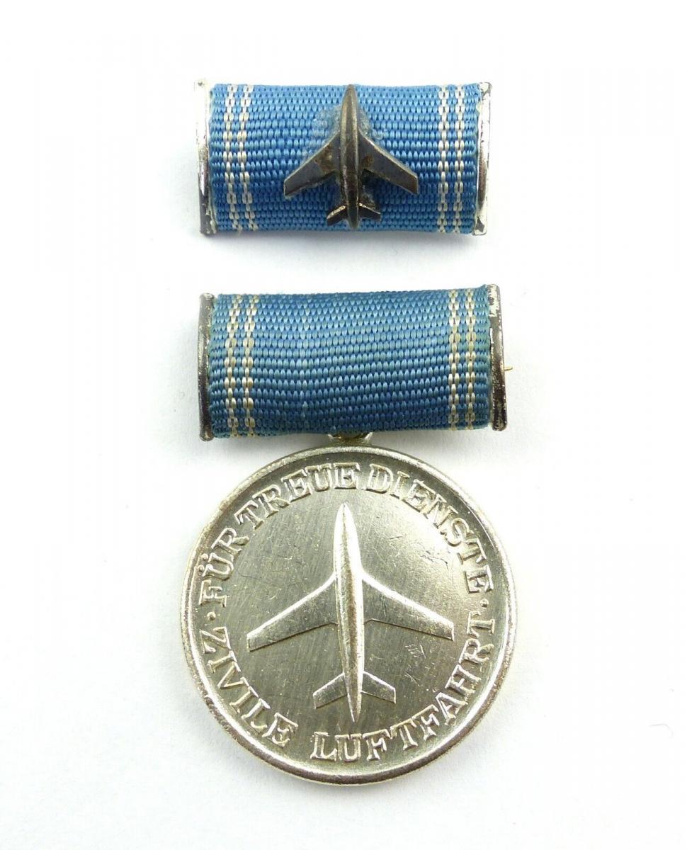 #e8732 Medaille für treue Dienste in der zivilen Luftfahrt goldfarben Nr. 190 a