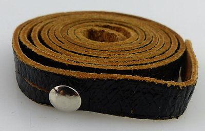 Schwarzer Trageriemen für Ferngläser, Gesamtlänge ca.: 92 cm, fern575