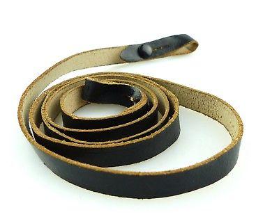 #e8862 Alter Trageriemen für Ferngläser, Farbe: schwarz, Gesamtlänge ca.: 82cm