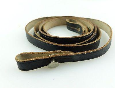 #e8861 Alter Trageriemen für Ferngläser, Farbe: schwarz, Gesamtlänge ca.: 84 cm