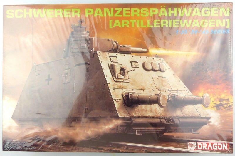 #e8826 Modellbausatz 1:35 Schwerer Panzerspähwagen Artilleriewagen (Dragon 6073)