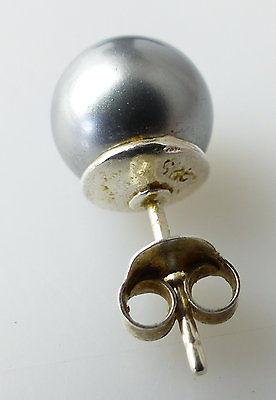 #e2151 Perlen Ohrstecker und dazu passende Kette mit Perle in 925er Silber 5