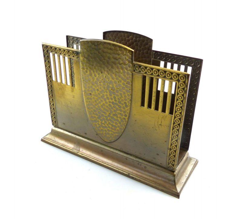 #e8900 Alter Serviettenhalter oder Briefständer von WMF Art Deco
