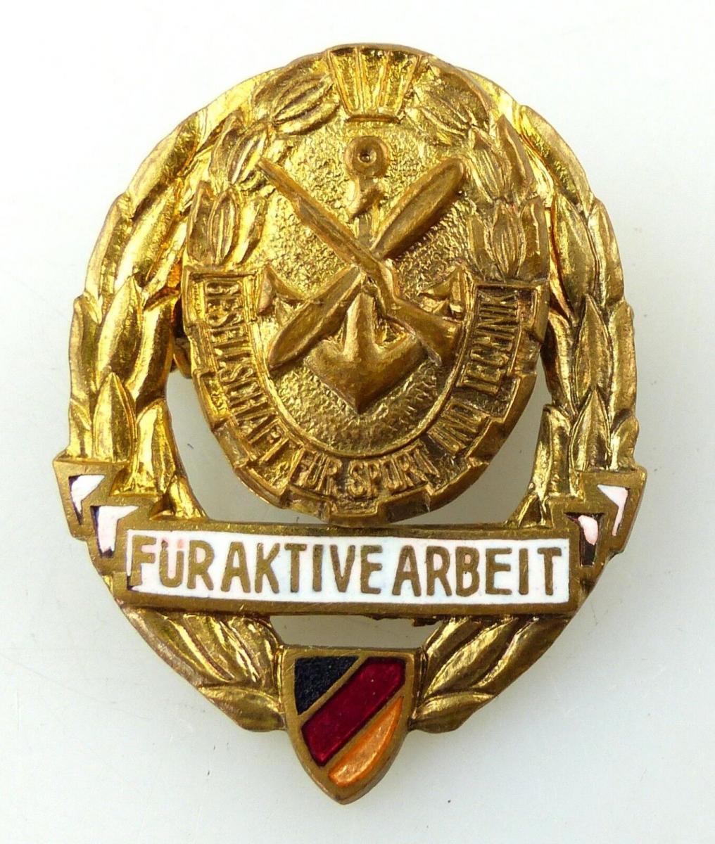 #e8972 Abzeichen / Medaille für aktive Arbeit in der GST vgl. Nr. 11 d (1956-59)