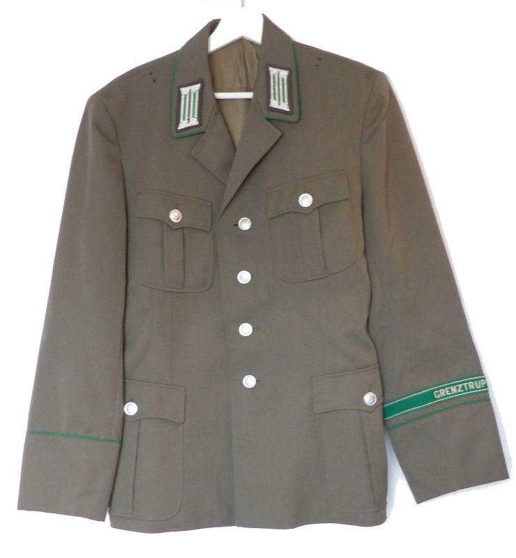 #e8943 Original Grenztruppen Uniform Jacke von 1984 NVA DDR Größe: g48