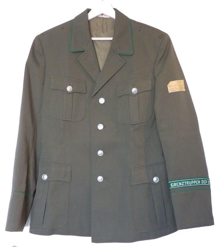 #e9024 Kammerstück NVA Uniform Jacke 1983 Grenztruppen der DDR Größe: sg 48