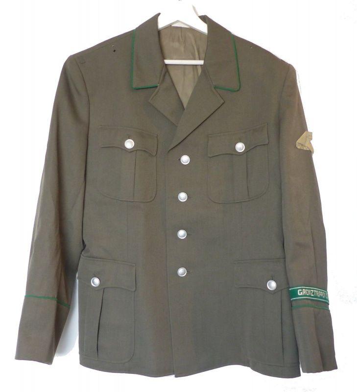 #e9023 Original NVA Uniform Jacke von 1983 Grenztruppen der DDR Größe: m 52