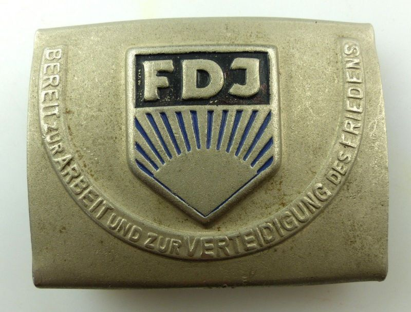Altes FDJ Koppelschloss Freie Deutsche Jugend ,Orden3397