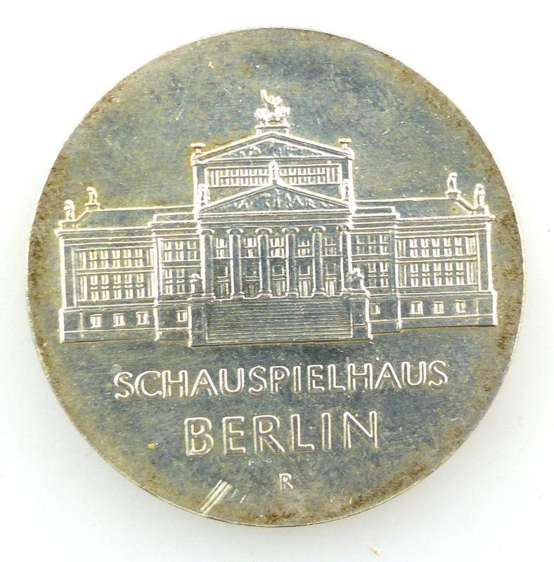 E9104 DDR 10-Mark-Gedenkmünze 1987 - Schauspielhaus Berlin