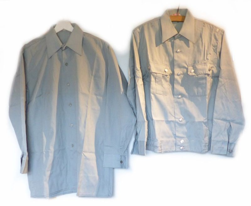 E9217 Original alte NVA Bluse und Hemd in Größe 38 N