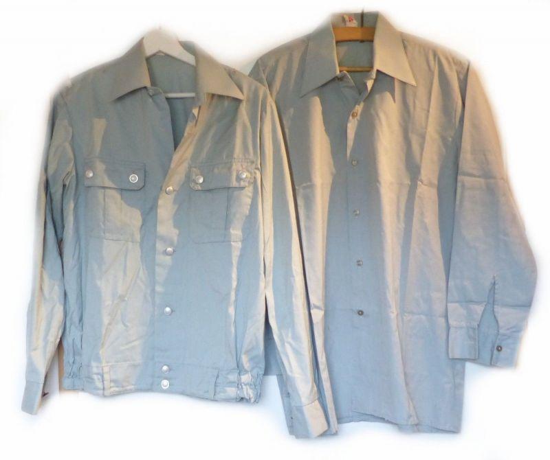 E9215 Original NVA Bluse Größe 38 N und Hemd Größe 38 L DDR