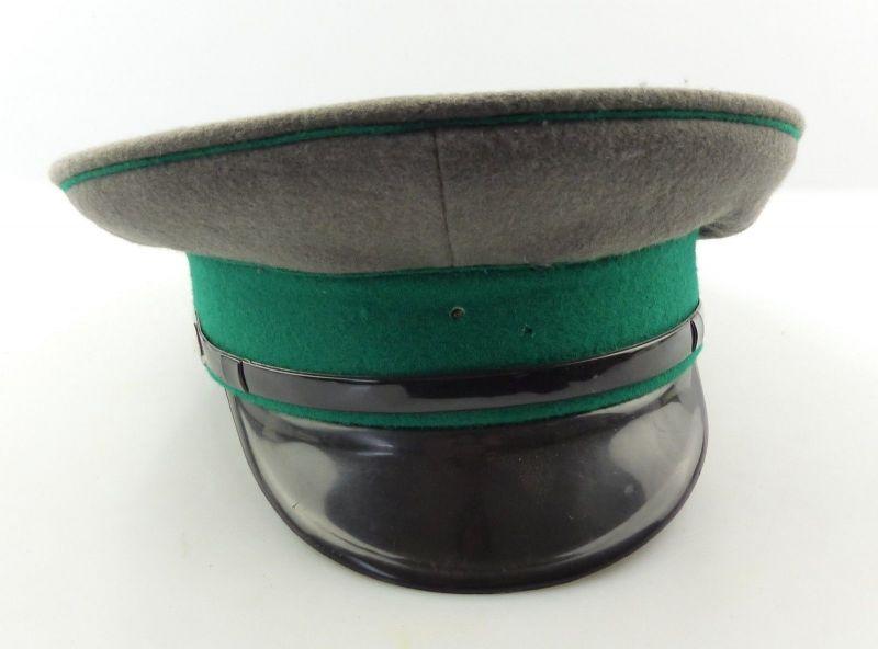 E9267 DDR Schirmmütze der Grenztruppen der NVA Größe 57 von 1988 ohne Emblem